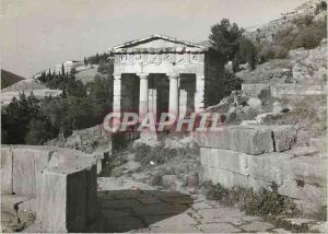 Moderne Karte Delphi Athenian Treasure