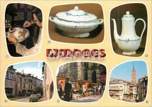 Moderne Karte Limoges Hte Vienne Capitale de renommee mondiale pour sa porcelaine
