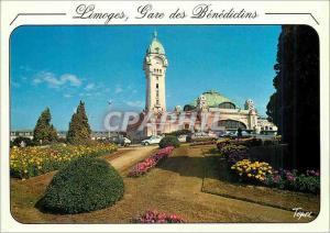 Moderne Karte Limoges Hte Vienne Une des plus belles gares de France