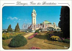 Moderne Karte Limoges Hte Vienne Une des plus belles gares de France Limoges Gare des Benedictins