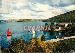 Moderne Karte Le Limousin Pittoresque Pres de Peyrat Le Chateau Le lac de Vassivieres l un des plus beaux du L