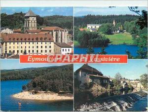 Moderne Karte Limousin Eymoutiers Haute Vienne Le couvent des Ursulines Sir l Ile de Vassiviere
