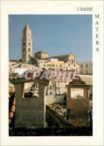 Moderne Karte Isassi Matera Sasso Barisano e Cattedrale