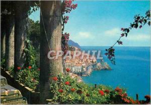 Moderne Karte Amalfi Panorama vu de la terrasse de l Hotel Cappuccini