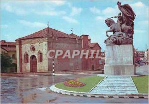 Moderne Karte Le monument aux morts et la Baptistere de St Pierre
