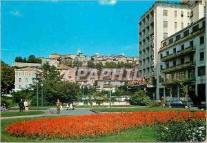 Moderne Karte Bergamo Place de la Republique