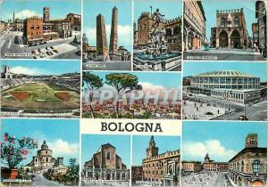 Moderne Karte Bologna Souvenir de Bologna