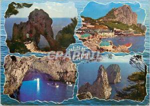 Moderne Karte Saluti da Capri