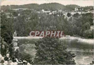 Moderne Karte Villers-Le-Lac Les Bassins du Doubs les Brenets et le Plongeon