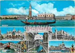 Moderne Karte Venezia Salutation de Venise