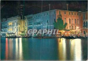 Moderne Karte Venezia la nuit Grand Canal et Ca d'Oro