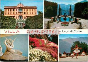 Moderne Karte Villa Carlotta