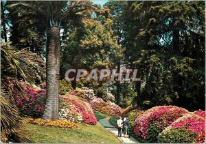 Moderne Karte Villa Carlotta Lac de Come