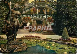 Moderne Karte Villa Carlotta Staira