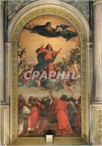 Moderne Karte Venezia Eglise de S Marie Glorieuse des Moines