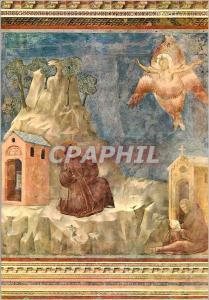 Moderne Karte Assisi basilique di S Francesco chiesa superiore