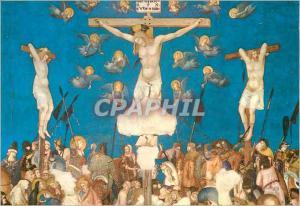 Moderne Karte Assisi basilique de st francois (eglise inferieur) le crucifiement (lorenzetti)