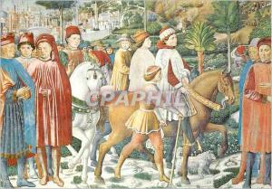 Moderne Karte S gimignano chiesa di s angostino s augustin part de rome pour milan (b gozzoli 1465)