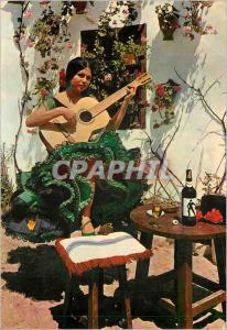 Moderne Karte Espana Tipica Image Typique