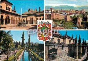 Moderne Karte Granada Recuerdo de Granada