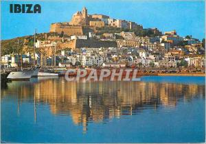 Moderne Karte Ibiza Vista general
