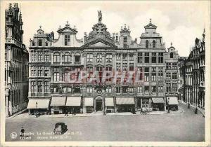 Moderne Karte Bruxelles Le Grand Place