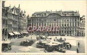 Moderne Karte Bruxelles Grand Place