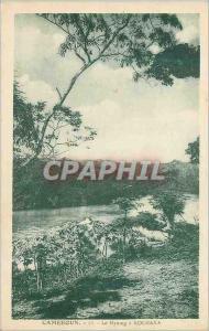 Ansichtskarte AK Cameroun Le Nyomg a Kolmaka