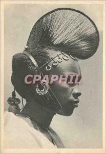 Moderne Karte Cameroun Coiffe Folklore