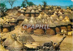 Moderne Karte Cameroun Cases Kirdis