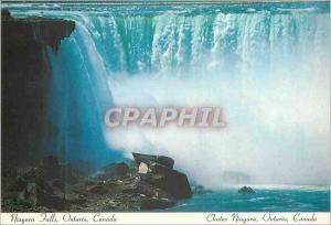 Moderne Karte Chutes Niagara Ontario Canada