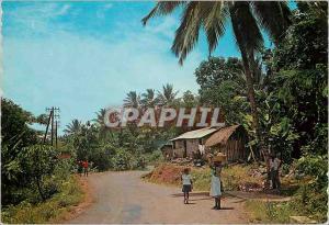 Moderne Karte Martinique Campagne Tropicale