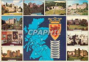 Moderne Karte The Stately Homes of Scotland