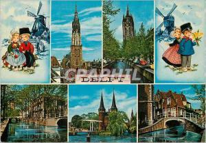 Moderne Karte Delft Moulin