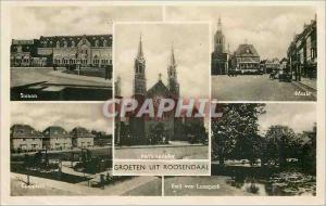 Moderne Karte Groeten uit Roosendaal