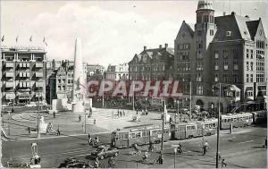 Moderne Karte Amsterdam C National Monument Dam Tramway