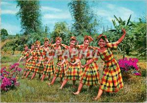 Moderne Karte Itik itik A native dance interpreting the playfulness of duckling wading in the river Philippine