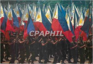 Moderne Karte Philippine Independence Day celebration