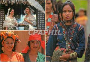 Moderne Karte Philippine Charming faces