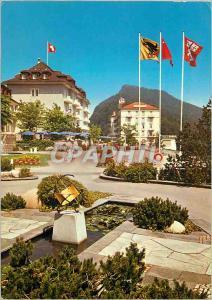 Moderne Karte Burgenstock Hotels Park und Palace Hotel