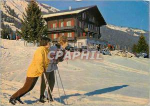 Moderne Karte Hotel Chamossaire Anzere Ayent Valais Station touristique d hiver et d ete de Sion par route de