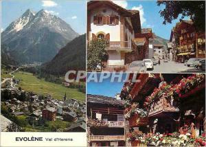 Moderne Karte Evolene Val d Herens