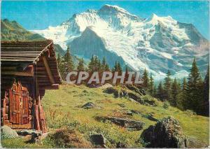 Moderne Karte Berner Oberland Jungfrau