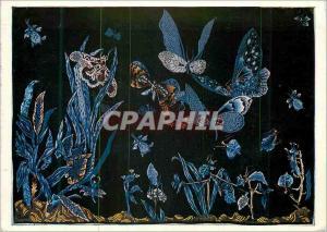 Moderne Karte Ailes Bleues Jean Lurcat