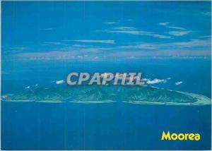 Moderne Karte Isle of Moorea