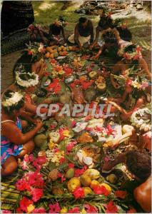 Moderne Karte A Tahitian Feast