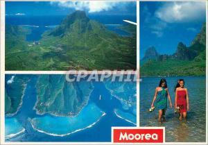 Moderne Karte Le Mont Rotui Moorea