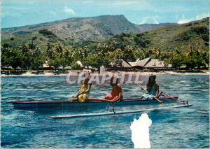 Moderne Karte Hotel Tahiti-Village Tahiti