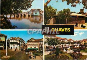 Moderne Karte Chaves Panorama