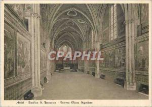 Moderne Karte Assisi Basilica S. Francesco-Interno Chiesa Superiore